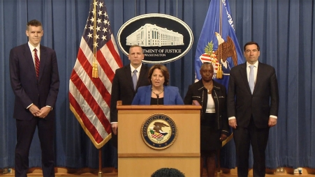 Justice Department Press Conference Regarding Ransomware Attack on Colonial Pipeline