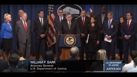 Embedded thumbnail for Justice Department Coordinates Largest-Ever Nationwide Elder Fraud Sweep