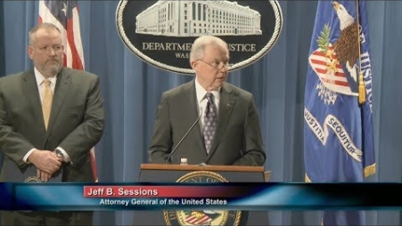 Embedded thumbnail for Attorney General Sessions & Acting DEA Administrator Patterson Announce New Tools to Fight Opioid Crisis