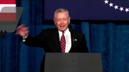 Embedded thumbnail for Former Attorney General John Ashcroft Delivers Remarks at the 2018 Project Safe Neighborhoods Conference