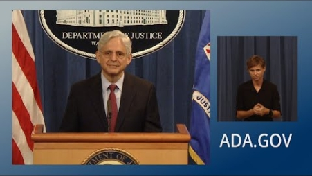 Embedded thumbnail for Attorney General Garland on the 31st Anniversary of the Americans With Disabilities Act