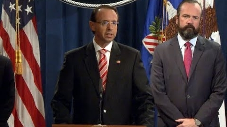 Embedded thumbnail for Grand Jury Indicts 12 Russian Intelligence Officers for Hacking Offenses Related to the 2016 Election