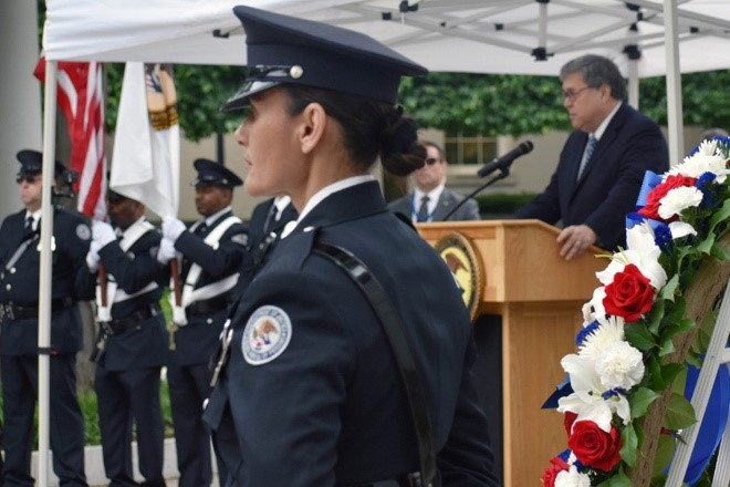 Attorney General William P. Barr delivered remarks on Wednesday, May 8, 2019, at the Correctional Workers Week Memorial Service.