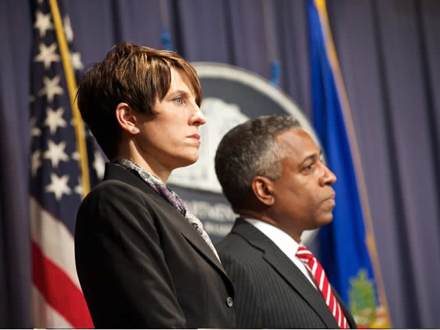 Laura E. Duffy and Todd Jones