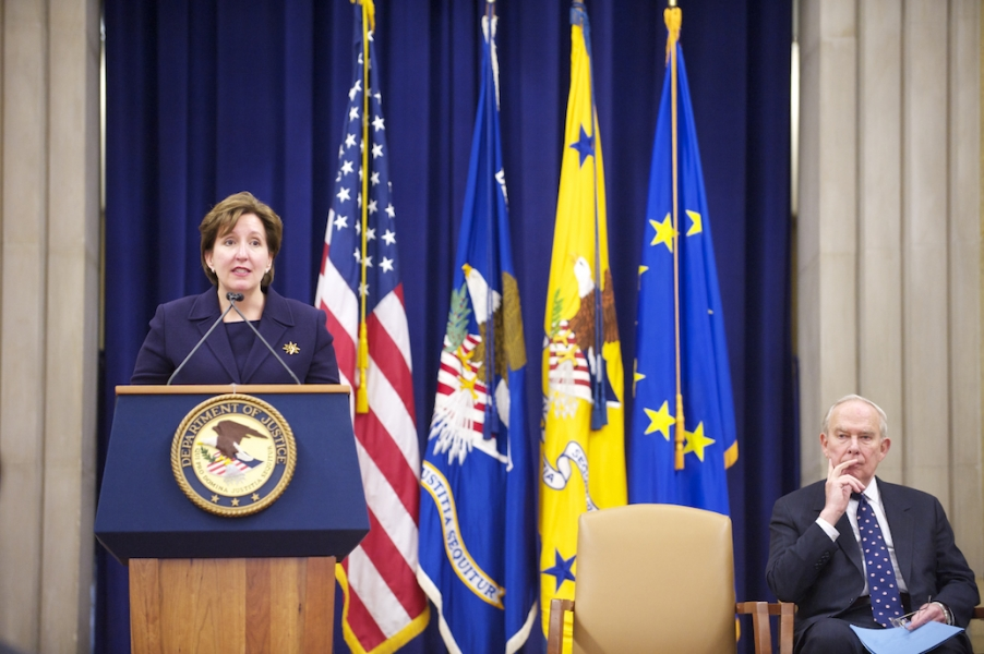Acting Assistant Attorney General Sharis A. Pozen introduced Vice President Almunia and praised the success of the U.S.-EC bilateral antitrust agreement of 1991.
