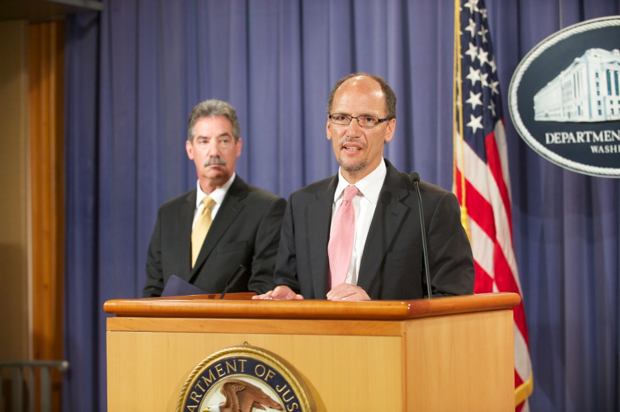 Assistant Attorney General Tom Perez discusses Wells Fargo's illegal lending practices, and how the Department intends to work with the banking giant to provide restitution to borrowers who were wronged as a result.