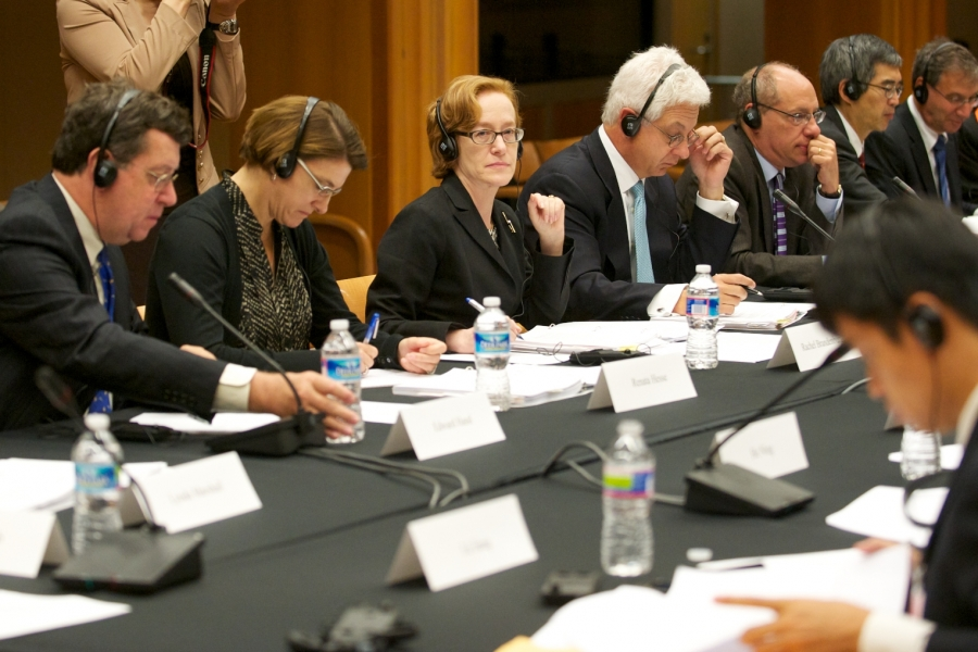 Representatives from the U.S.  DOJ's ATR and the FTC at the high level joint dialogue between competition agencies.