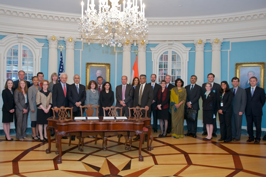 DOJ, DOS, FTC, IMCA and CCI at the MOU signing in Washington, D.C.