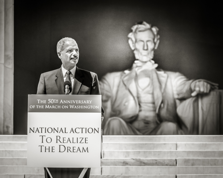 Attorney General delivers remarks at the remarks at the National Action to Realize the Dream March