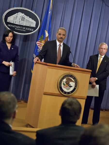DEA Acting Administrator Leonhart, ATF Acting Director Melson and Attorney General Holder take questions.