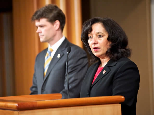 Acting Administrator Michele M. Leonhart of the U.S. Drug Enforcement Administration (DEA)