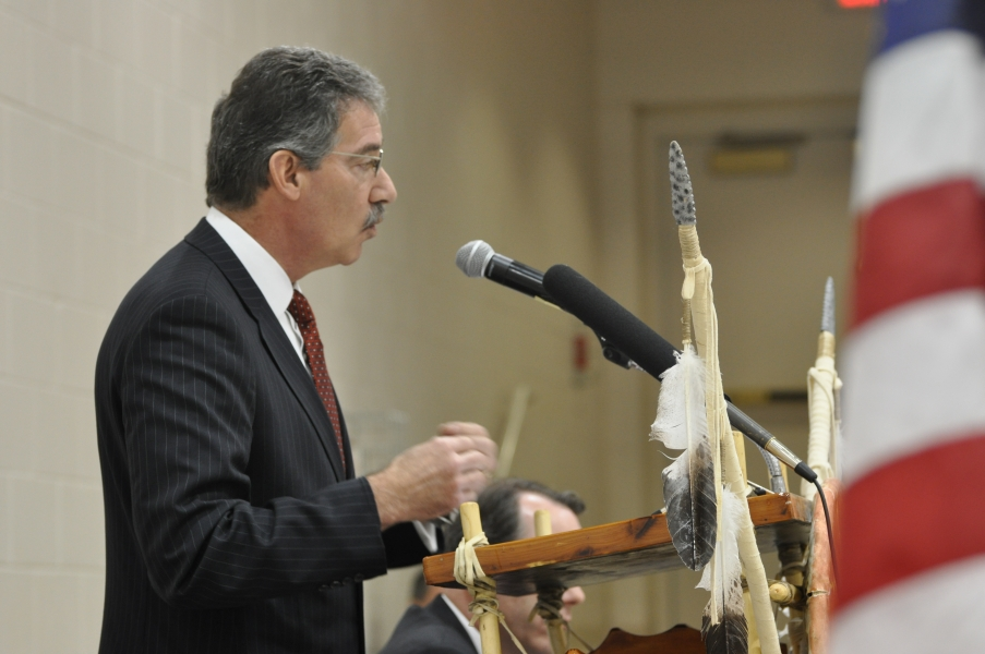 Deputy Attorney General Cole delivers remarks to the Tribal Consultation Conference.