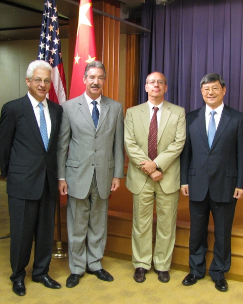 Deputy Attorney General James M. Cole met with the Chinese NDRC Vice Chairman Hu Zucai on Monday, September 24, 2012.