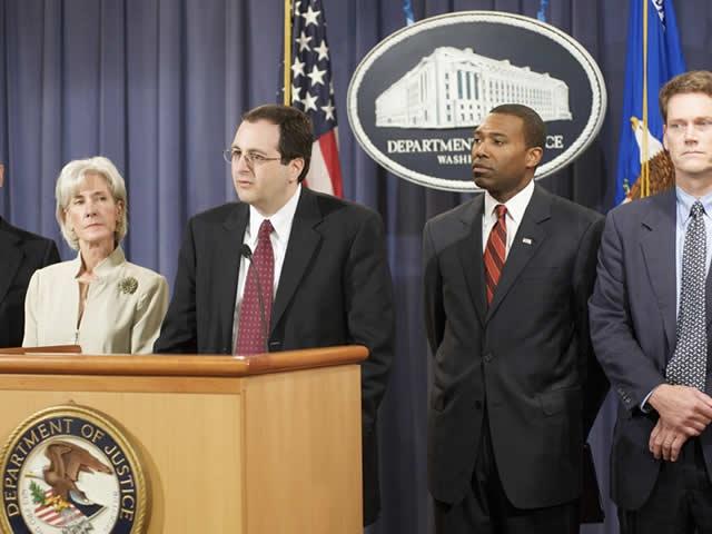 Associate Attorney General Perrelli announces the Pfizer settlement.