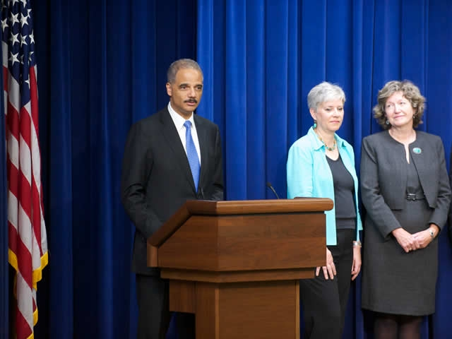 "Attorney General speaks about the recipients of the White House's ""Champions of Change"" honors."