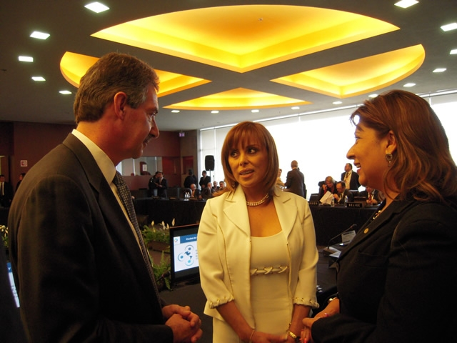 Deputy Attorney General Cole and Mexican Attorney General Marisela Morales discuss their shared priorities.