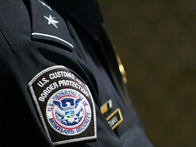 United States Customs and Border Protection Agents were present as well.