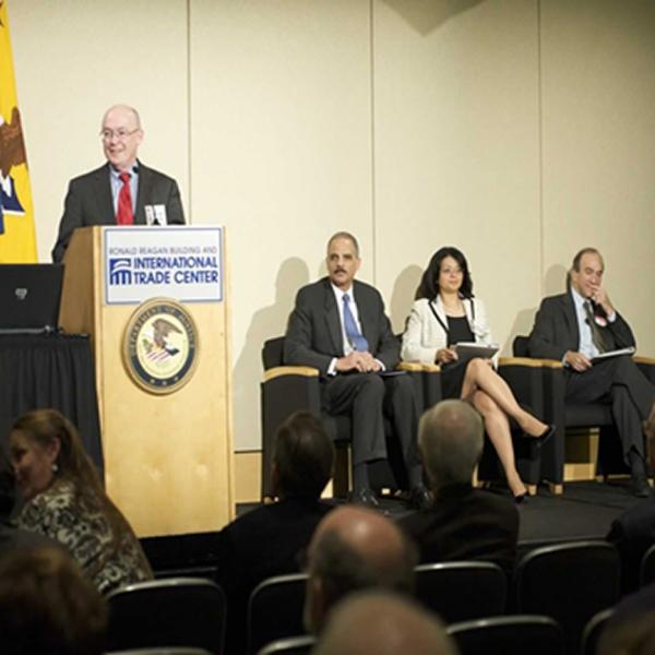 Deputy Assistant Attorney General Cruden praising the work of ENRD