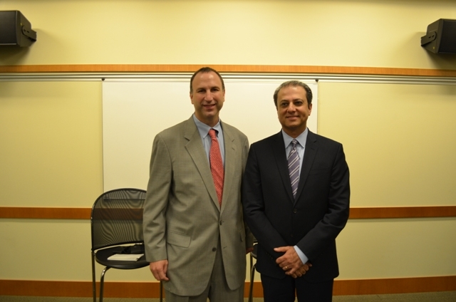 Ken Kurson and U.S. Attorney Preet Bharara