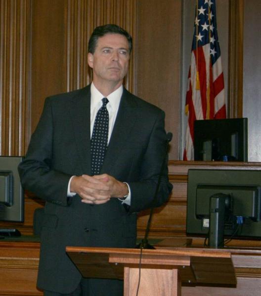 FBI Director James Comey visit