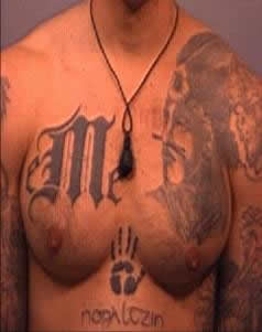 The Mexican Mafia prison gang, also known as La Eme (Spanish for the letter M)