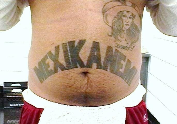 The Mexikanemi prison gang, also known as the Texas Mexican Mafia (La Eme)