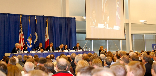 More than 700 citizens attended the first Department of Justice/Department of Agriculture workshop.