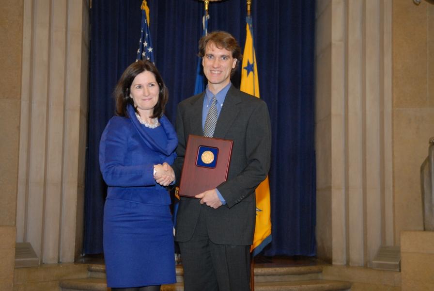 2010 AAG Individual Award recipient Craig Peters.