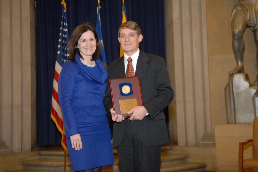 2009 AAG Individual Award recipient John Read.