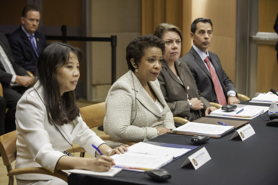 oAttorney General Lynch meeting with the Attorneys General of all Central American nations.