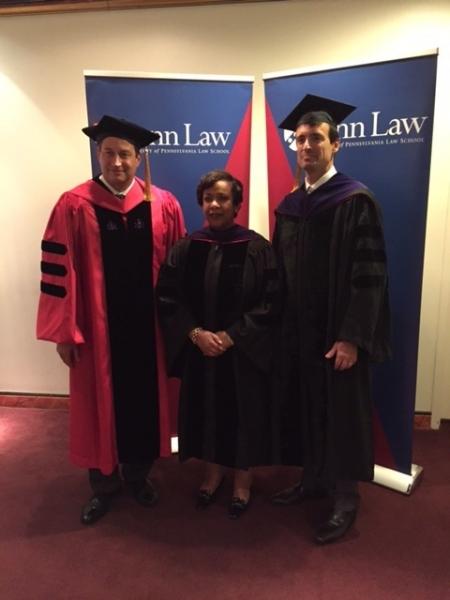 Attorney General Loretta E. Lynch at the University of Pennsylvania Law School 2016 Spring Commencement.