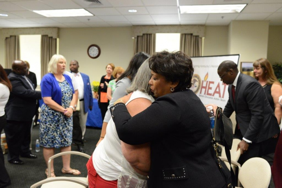 Attorney General Loretta E. Lynch met with parents who have lost their children due to overdoses