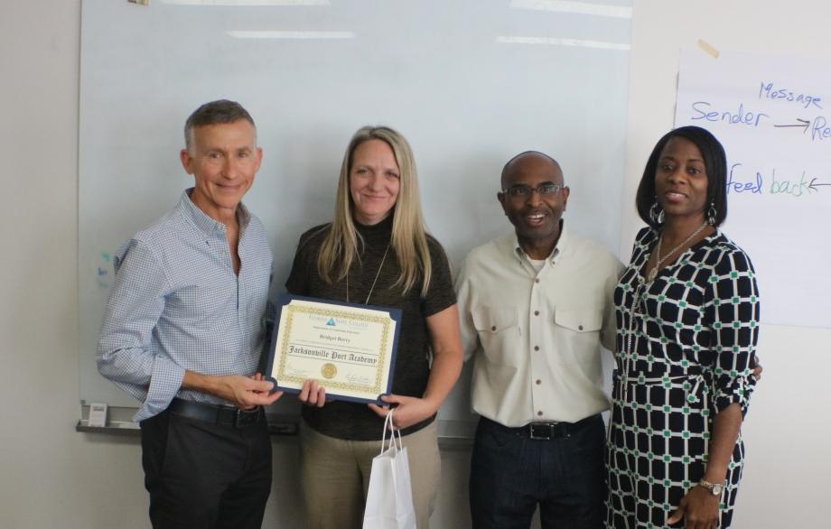 Operation New Hope's Port Academy Graduation