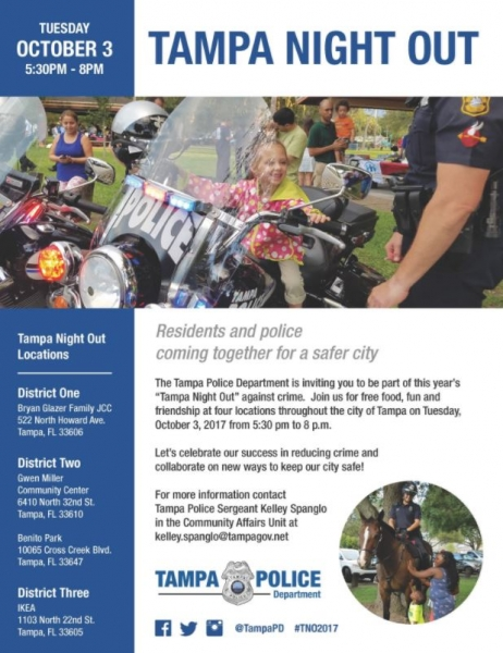 Tampa PD Flyer