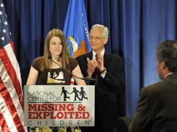 Melissa, a courageous young woman who shared her story of surviving abuse and shed more light on the threats kids regularly face.