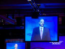 AG Eric Holder spoke at the National Association of Counties Legislative Conference held in Washington DC.