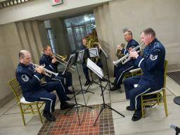 The Air Force Band Ceremonial Brass Quintet