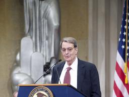 Former Deputy Attorney General Phillip B. Heymann speaks of the legacy of Jack Keeney.