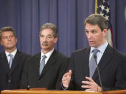 Virginai AG Ken Cuccinelli discusses the cooperative investigation between the departmentand other federal agencies