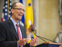 AAG Thomas Perez highlights several  accomplishments and current projects at DOJ