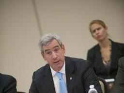 U.S. Attorney Neil McBride participates in a panel discussing the need for intellectual property protection.