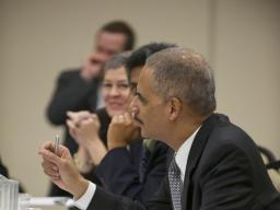 Attorney General Eric Holder discusses the DOJ's increased efforts to combat IP theft.