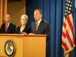 Assistant Attorney General Lanny A. Breuer of the Criminal Division discusses the success of one of the largest Medicare fraud takedowns in Department of Justice history.