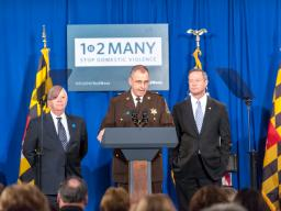 Montgomery County (Md.) Sheriff Darren Popkin discusses the problem of domestic violence homicide.