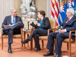 AG Holder,  Justice Elena Kagan, and former Walter Mondale explain the historical significance