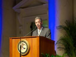 Deputy Attorney General James Cole served as the Master of Ceremonies for the Attorney General's Awards.