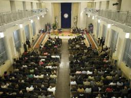 Overhead View of the CRS Anniversary event.