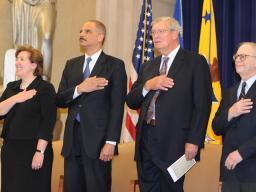 AAG Pozen, AG Holder,  James Rill and Michael Boudin
