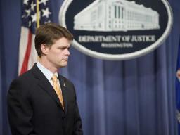 John Morton speaks on behalf of the Department of Homeland Security.