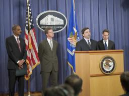 Robert Khuzami, the Director of Enforcement at the Securities and Exchange Commission, addresses the press.